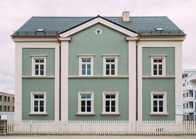 Logopädie Weißenburg Christin Pauer Gebäude Frontalansicht WUG